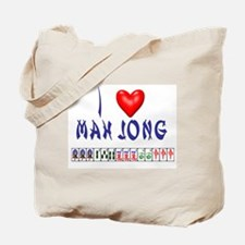 I LOVE MAH JONG Tote Bag