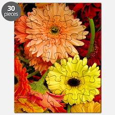 Mouse-flowers Puzzle