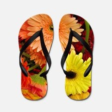 Mouse-flowers Flip Flops