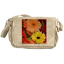 Mouse-flowers Messenger Bag