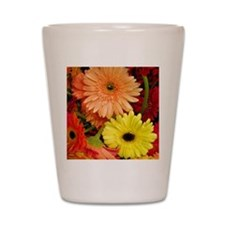 Mouse-flowers Shot Glass