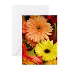 Mouse-flowers Greeting Card