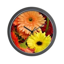 Mouse-flowers Wall Clock
