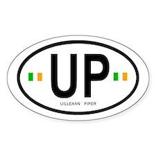 SLPC 'Uilleann Piper' Oval Bumper Stickers