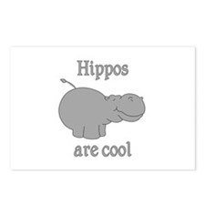 Hippos are Cool Postcards (Package of 8)