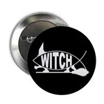 Witch Fish Button