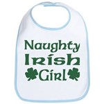 Naughty Irish Girl Bib