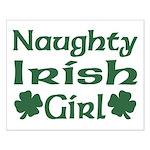 Naughty Irish Girl Small Poster