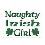 Naughty Irish Girl Postcards (Package of 8)