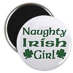 Naughty Irish Girl Magnet