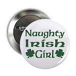 Naughty Irish Girl Button