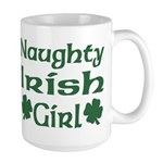 Naughty Irish Girl Large Mug