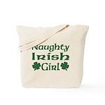 Naughty Irish Girl Tote Bag