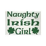 Naughty Irish Girl Rectangle Magnet (10 pack)