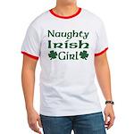 Naughty Irish Girl Ringer T
