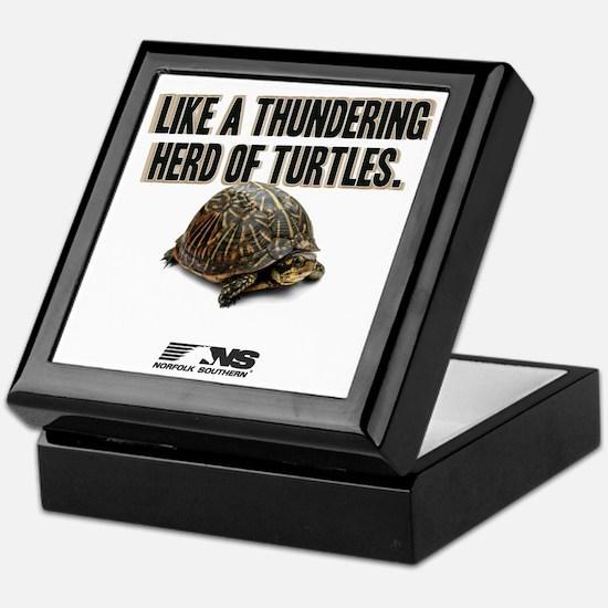 Like A Thundering Herd of Turtles NS Keepsake Box