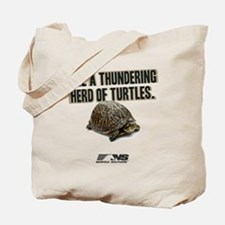 Like A Thundering Herd of Turtles NS Tote Bag