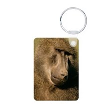 Close up of a baboon Keychains