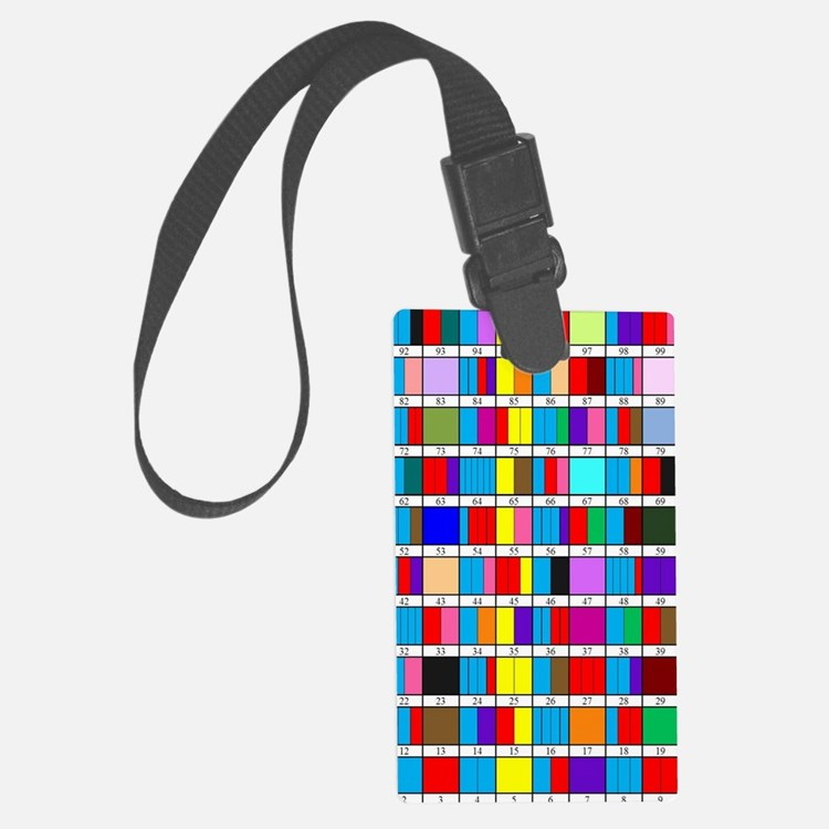 Prime Factorization Chart Luggage Tag