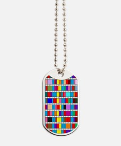 Prime Factorization Chart Dog Tags