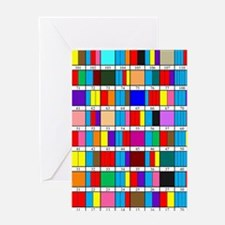 Octal Prime Factorization Chart Greeting Card