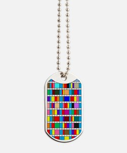 Octal Prime Factorization Chart Dog Tags