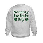 Naughty Irish Boy Kids Sweatshirt