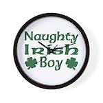 Naughty Irish Boy Wall Clock