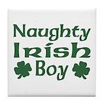 Naughty Irish Boy Tile Coaster