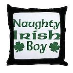 Naughty Irish Boy Throw Pillow