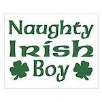 Naughty Irish Boy Small Poster
