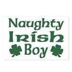 Naughty Irish Boy Postcards (Package of 8)