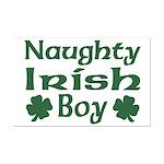 Naughty Irish Boy Mini Poster Print