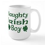 Naughty Irish Boy Large Mug