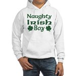 Naughty Irish Boy Hooded Sweatshirt