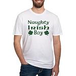 Naughty Irish Boy Fitted T-Shirt