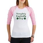 Naughty Irish Boy Jr. Raglan