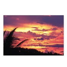 Picturesque sunset Postcards (Package of 8)
