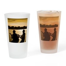 Journeymen Sunset Drinking Glass