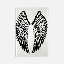 Reed Wings Rectangle Magnet