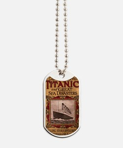 Sinking of the Titanic Dog Tags