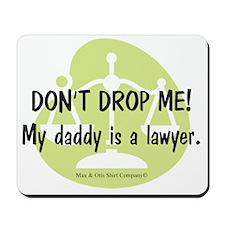 daddy-lawyer Mousepad