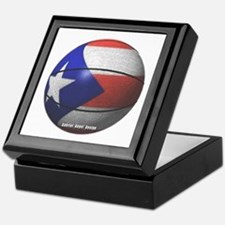 Puerto Rican Basketball Keepsake Box