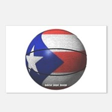 Puerto Rican Basketball Postcards (Package of 8)