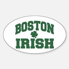 Boston Irish Oval Decal