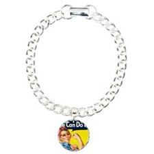 we can do it WALLET Charm Bracelet, One Charm
