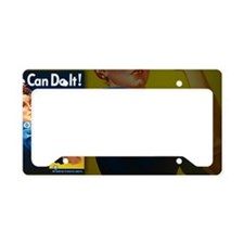small framed License Plate Holder