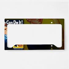 small framed License Plate Holder