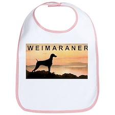 Weimaraner Sunset Bib