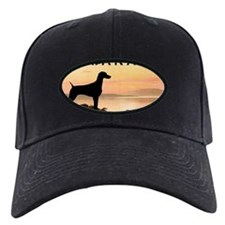 Weimaraner Sunset Baseball Hat